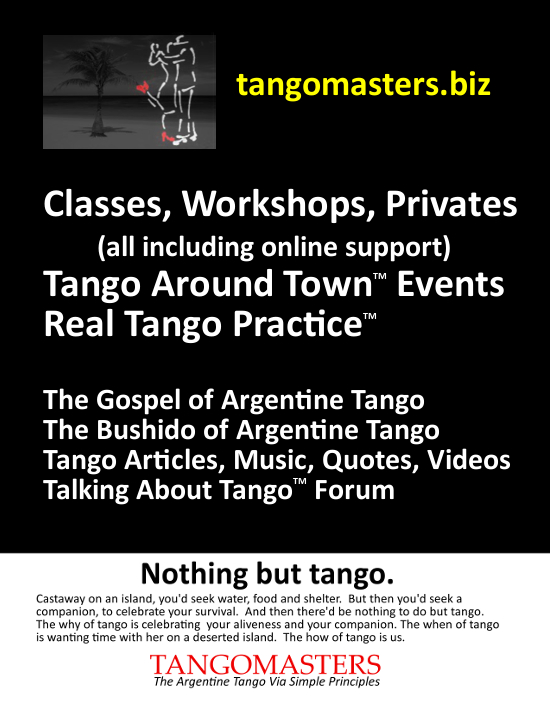 nothing but tango